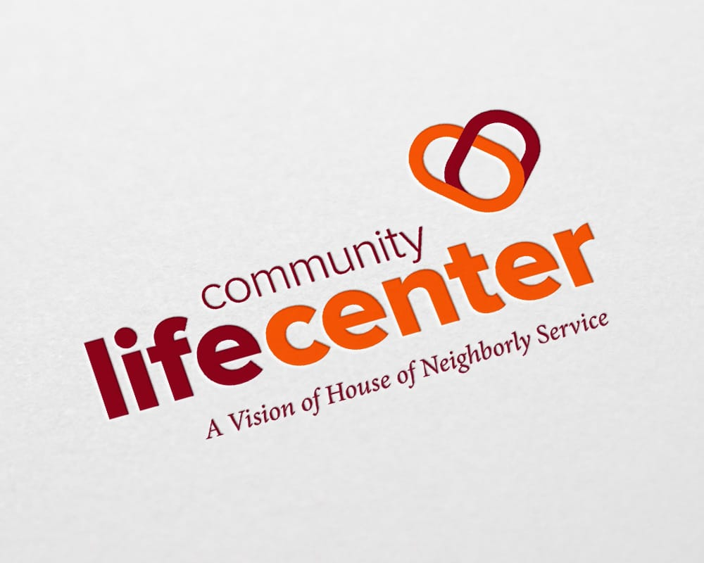 HNS Community Life Center logo design