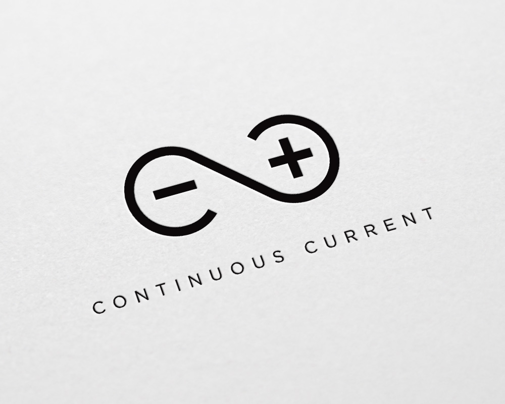 Continuous Current logo design