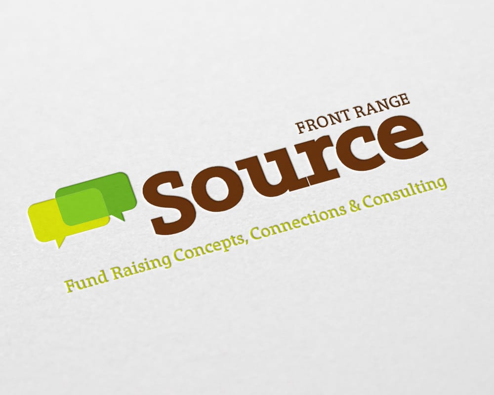 Front Range source logo design