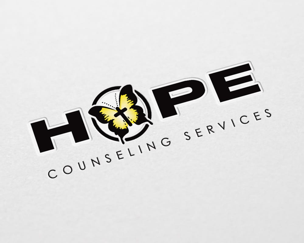 Hope Counseling Services logo design