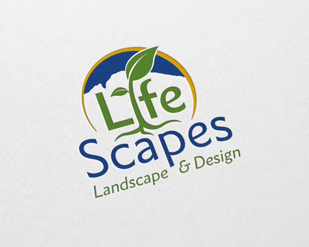 LifeScapes logo design