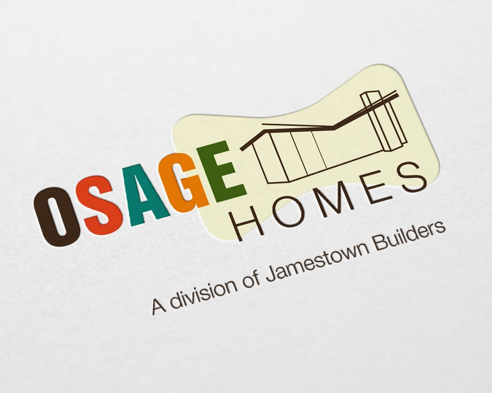 Osage Homes logo design
