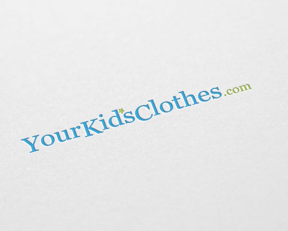 YourKidsClothes.com logo design