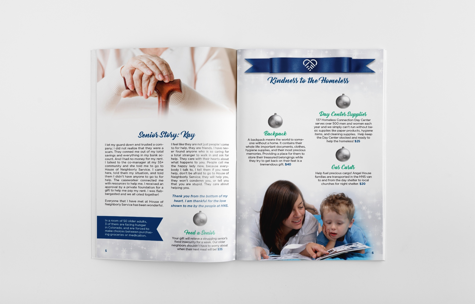 bafdc233c Hns Gift Catalog 2018 Awesomesauce Creative Llc Graphic Design